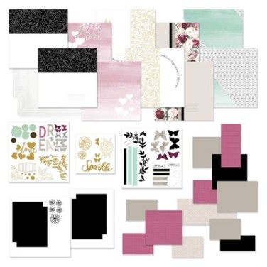 The Live Beautifully Cut Above Layout Kit